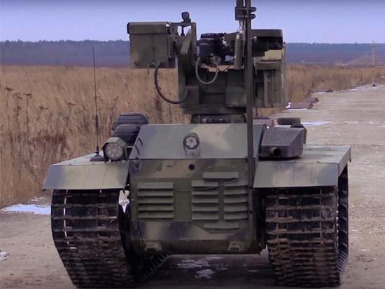 Боевой робот «Нерехта» будет принят на вооружение российской армией