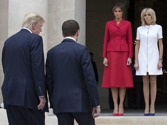 Свое предложение американский лидер озвучил президенту Франции в ходе беседы в Белом доме