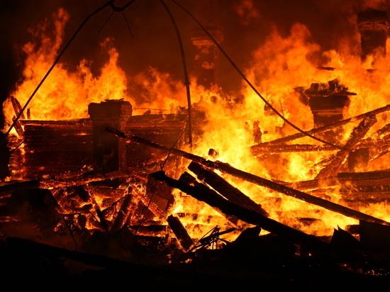 Инвалид-колясочник задохнулся в дыму горящего дома в Архангельской области