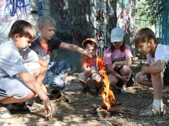 Из-за очага в детском шалаше в Устьянском районе едва не сгорели жилые дома
