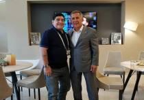 Диего Марадона побывал в Казани на матче ЧМ-2018 Аргентина – Франция