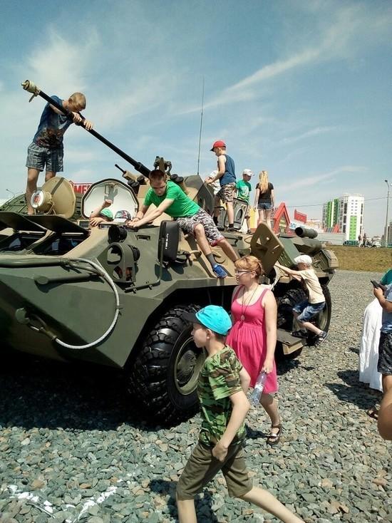 В Саранске прошла выставка военной техники