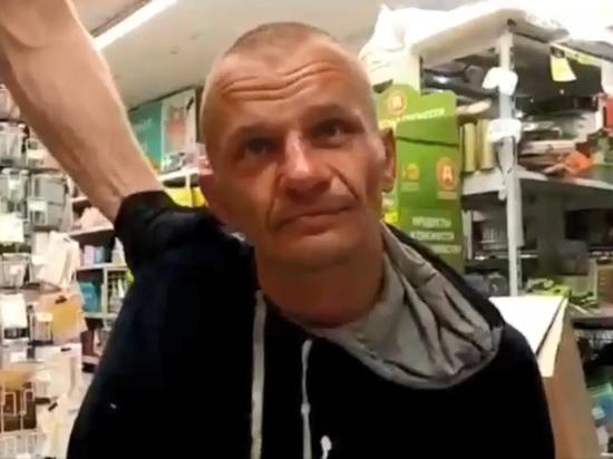 Подробности захвата заложницы в супермаркете: террорист крал коньяк и вино