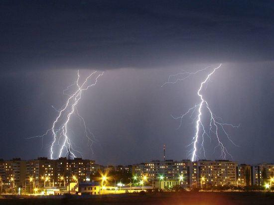 Прогноз: гроза и сильный ветер придут в Кострому к ночи