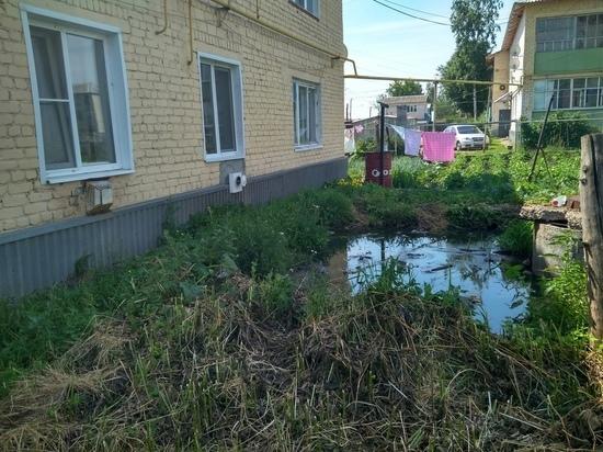 В Мордовии жители жалуются на прорвавшуюся канализацию
