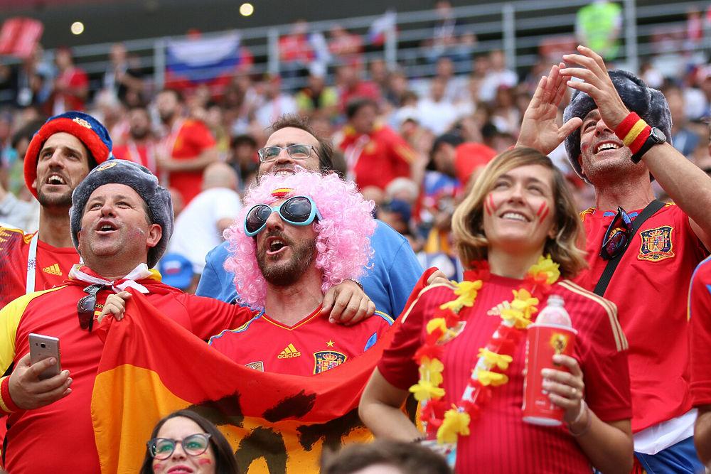 Кадры из Лужников: лучшие моменты победного матча Россия-Испания