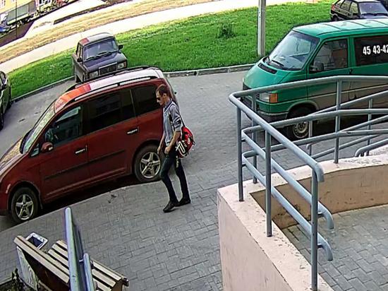 Кировская полиция разыскивает подозреваемого в краже (фото)