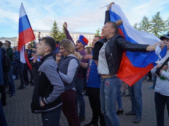 После дивного матча России с Испанией в Архангельске снова сделают фан-зону