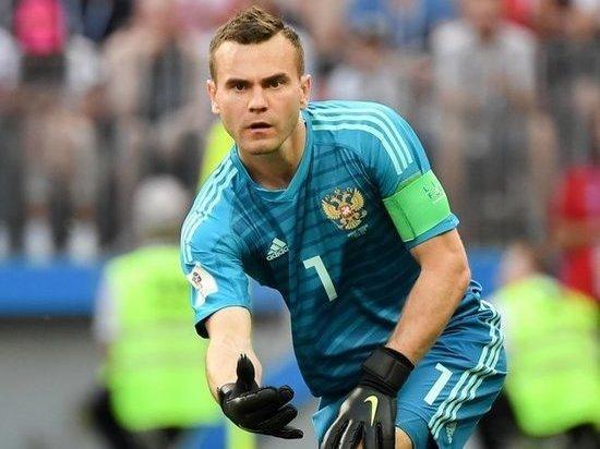 Вратарь сборной России отказался от памятника