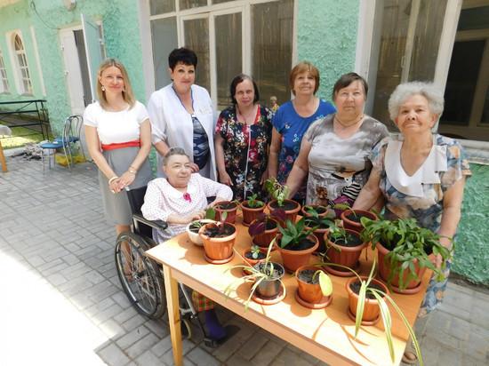 В тамбовском доме-интернате для престарелых появится зелёный уголок