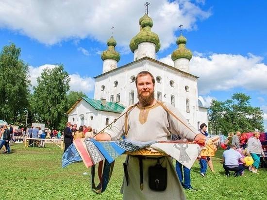 Каргополь отходит от праздника народных мастеров России