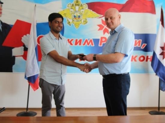 Мордовские школьники нашли и вернули документы иностранному болельщику