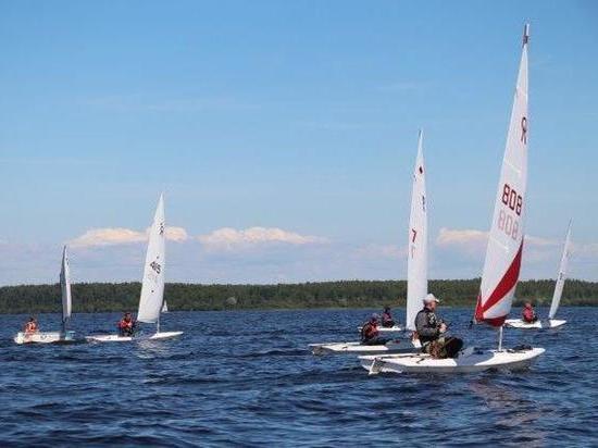 На Рыбинском море прошли соревнования по парусному спорту