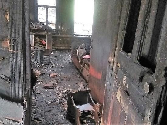 В Мордовии после пожара семья осталась без крова и имущества