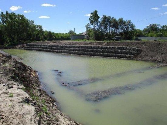 Работы по строительству плотины в Пичаевском районе завершат в сентябре