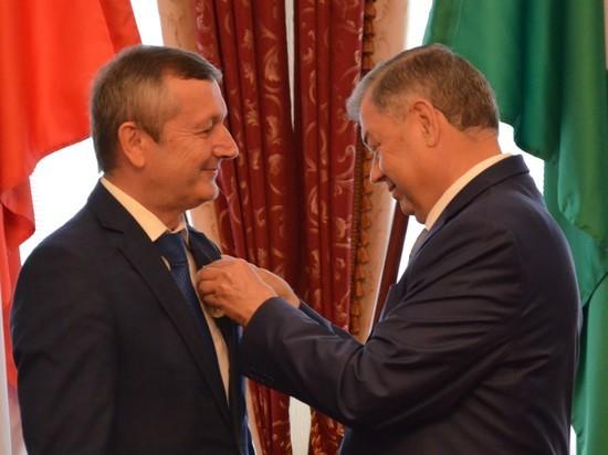 Труженики Калужской области получили государственные награды