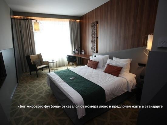 В Саранске Роналду проигнорировал номер «люкс» и спал на кровати размером «кинг-сайз»