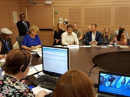 Министерство алии и интеграции представило в Кнессете годовой отчет