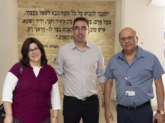 Нам, Клеймс Конференс, повезло, что у нас в Израиле такие партнёры!