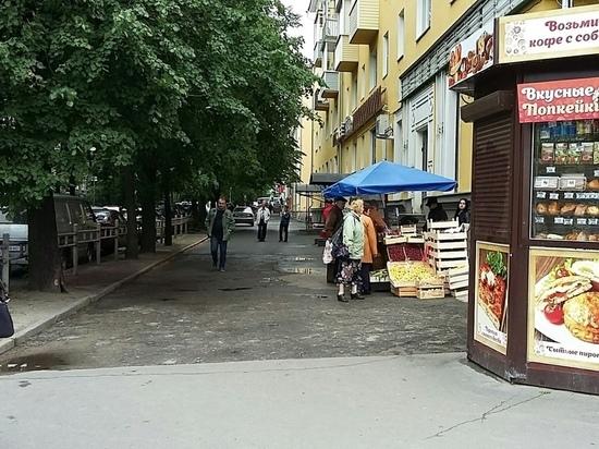 Уличная торговля в Петрозаводске: нашлись неожиданные спонсоры базара