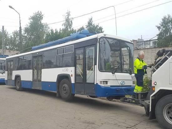 Петрозаводские троллейбусы пустят на запчасти