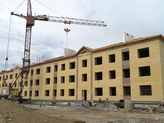 В Туве продолжается строительство домов для детей-сирот