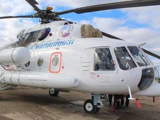 Северным районам Якутии достался медицинский вертолет
