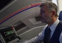 Министра транспорта РФ в Омске посадили за руль «Сапсана»