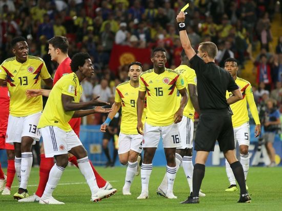 Футболистов сборной Колумбии пообещали убить из-за вылета с ЧМ-2018