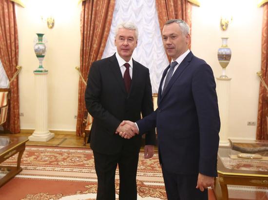 Новосибирская область сотрудничает с Москвой