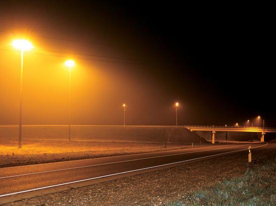 Дорожники совершенствуют освещение на федеральных трассах Алтая
