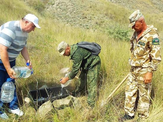 На Карадаг за водой: в заповеднике установили поилки для животных