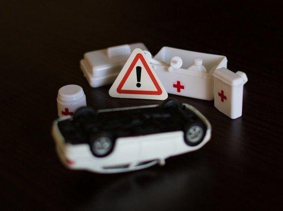 В ДТП с вылетевшим с трассы авто пострадало два человека