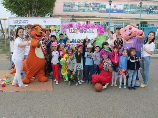 В Астраханской области успешно реализуется проект «Играем вместе!»