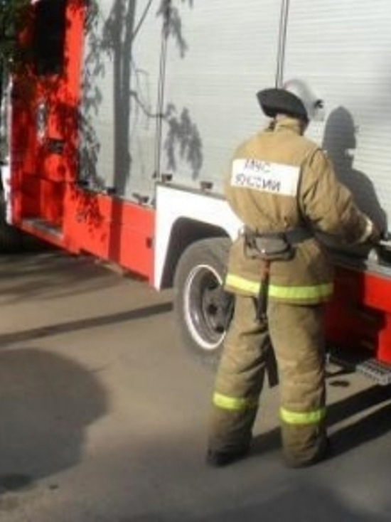 Квартира в пятиэтажке сгорела в Калуге
