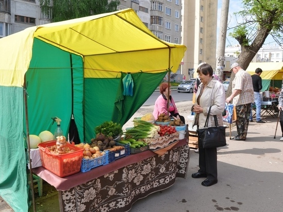 В Тамбове взялись за уличную торговлю