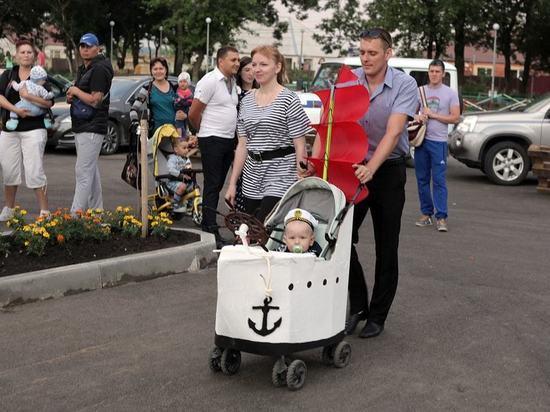 В жилом районе «Гармония» близ Ставрополя укрепляют семейные ценности