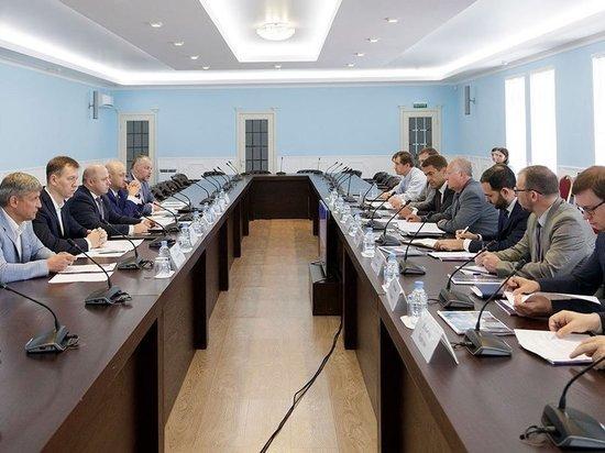 Переговоры с крупной фармацевтической компанией прошли в Тульской области
