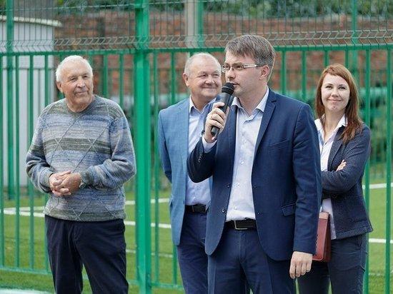 На «Туламашзаводе» открылся современный спортивный стадион