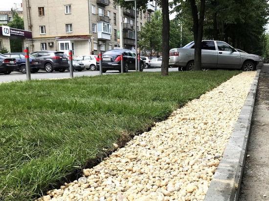 «Деньги девать некуда?»: челябинец потратил 60 тысяч рублей на общий газон в центре города