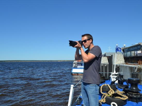 В Чебоксарах прошли съемки документального мультимедийного проекта «Великие реки России»