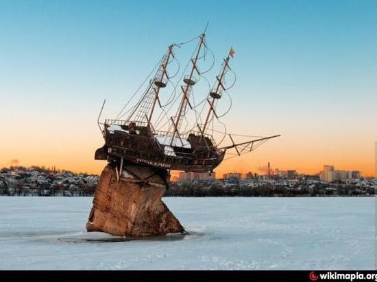 Воронежский баркалон «Меркурий» расплавят в печи
