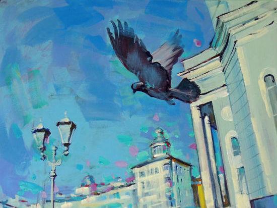 На смотровой площадке МГУ им. Огарева в Саранске открылась «Выставка на высоте»