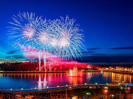 Фестиваль фейерверков в Чебоксарах получил название «Асамат»