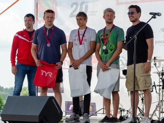 Тамбовский полицейский выиграл заплыв в Липецке