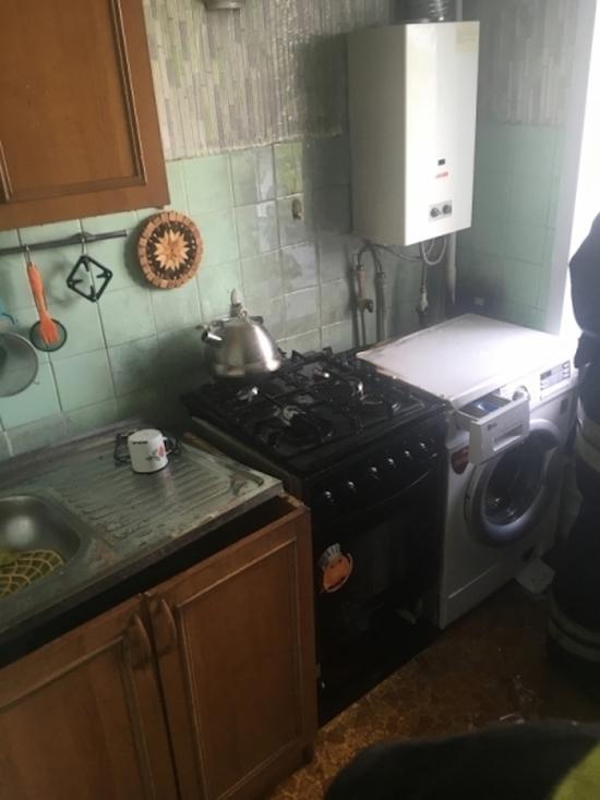 В Плавске в полдень сгорела кухня
