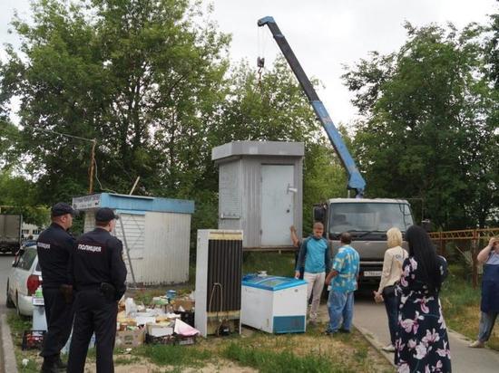 101 незаконный торговый объект демонтирован в Сормовском районе
