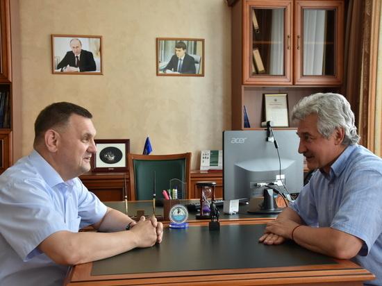 Ректоры АлтГТУ и АГМУ обсудили возможности сотрудничества в рамках действующего соглашения между вузами