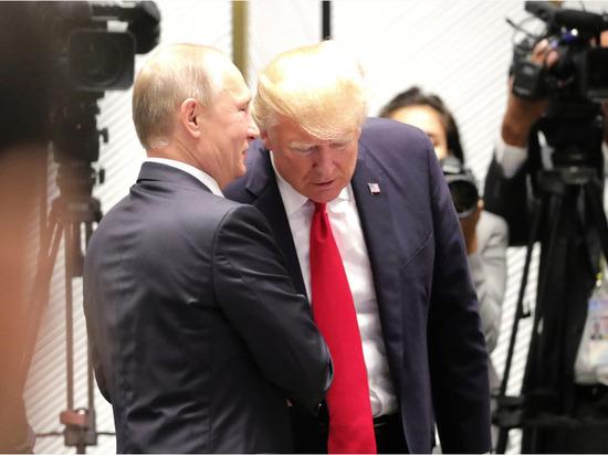 Путин иТрамп могут договориться овыводе войск Ирана изСирии