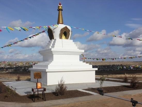 В соседнем городе откроется буддийская ступа